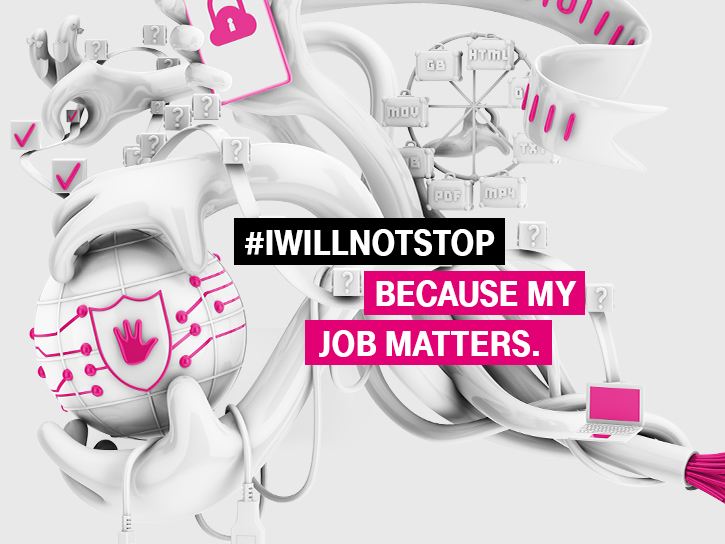 #iwillnotstop - because my job matters