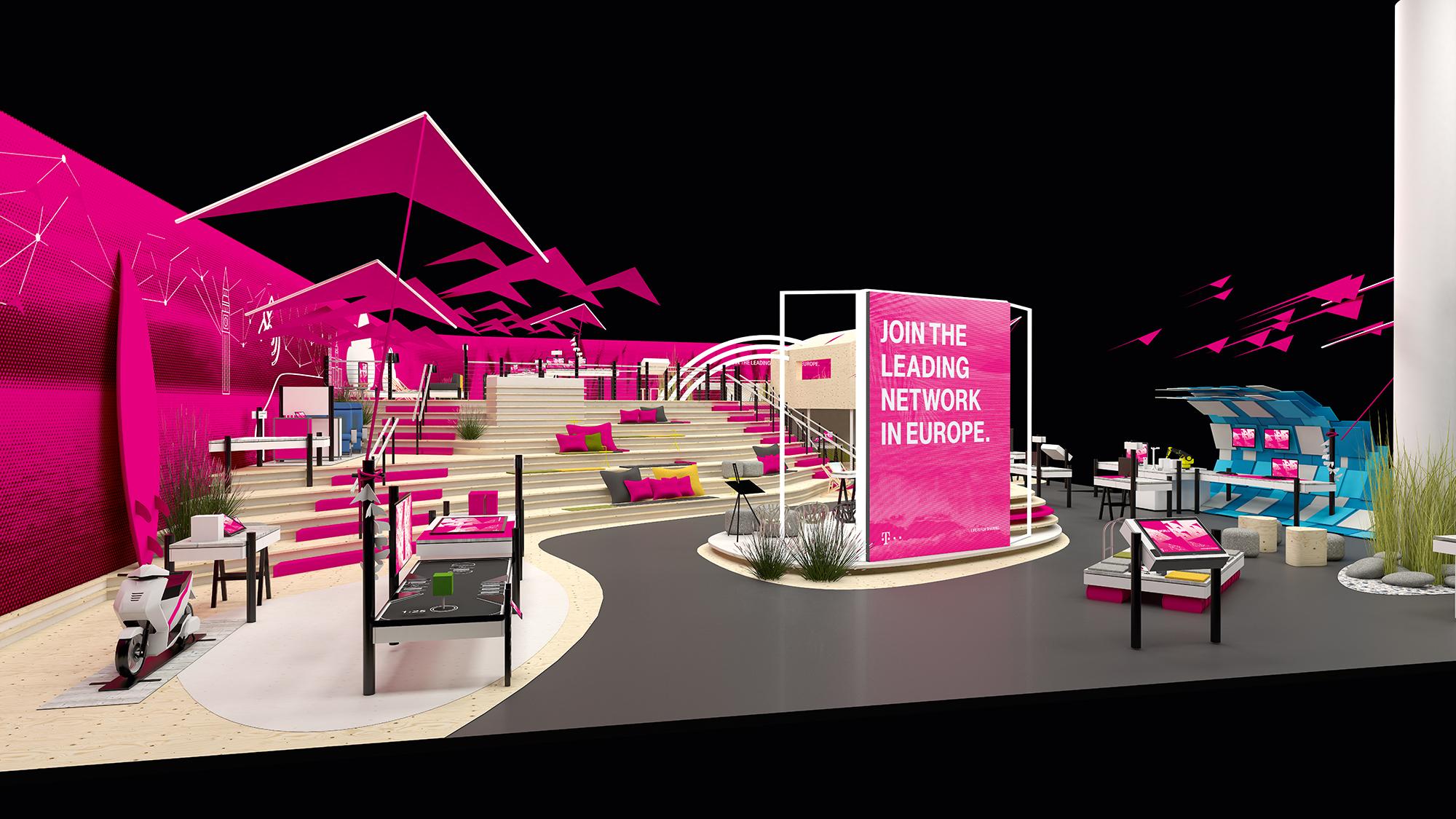 mobile world congress 2016 deutsche telekom l dt zum. Black Bedroom Furniture Sets. Home Design Ideas