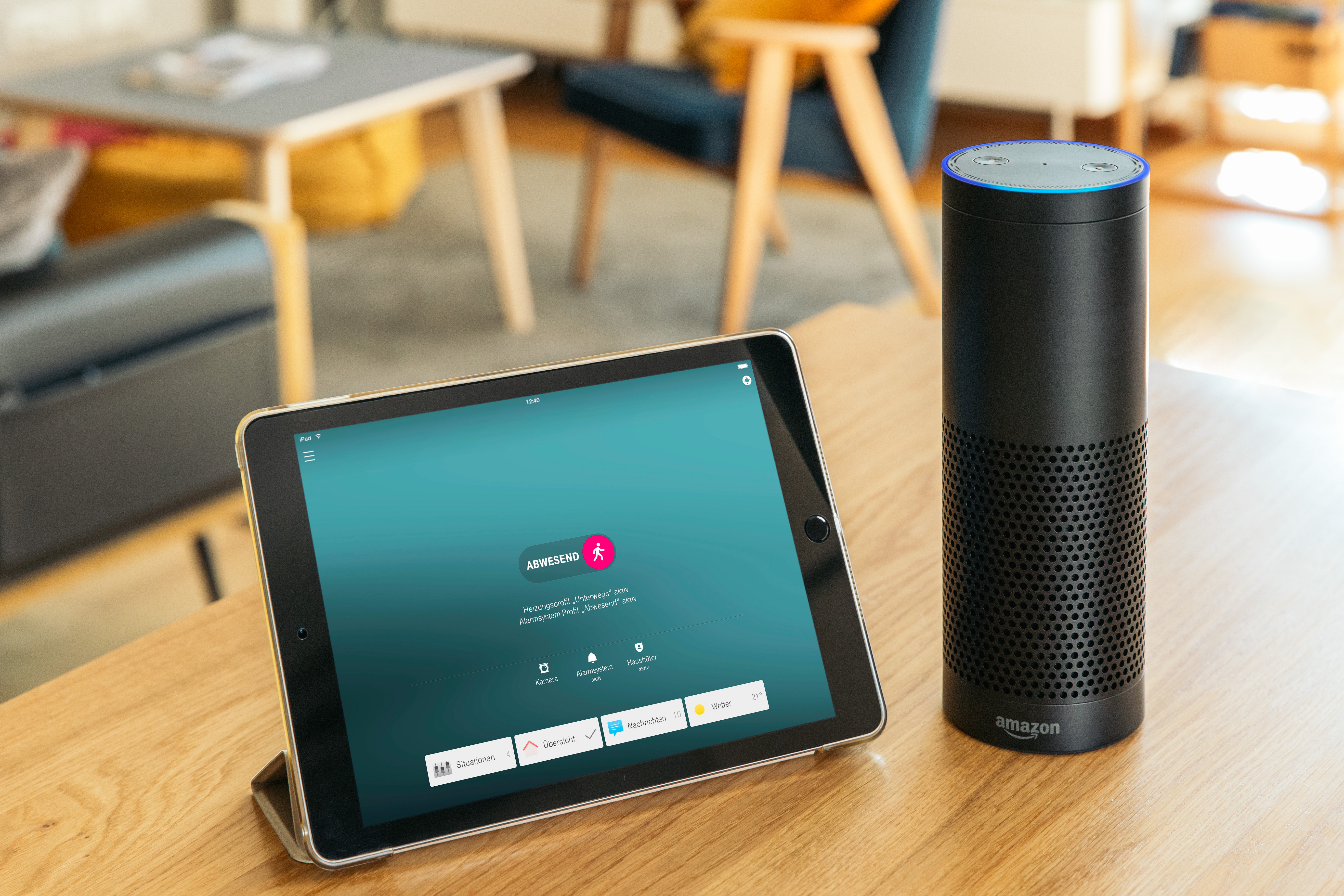 With Alexa Your Home Has A Voice Of Its Own Deutsche