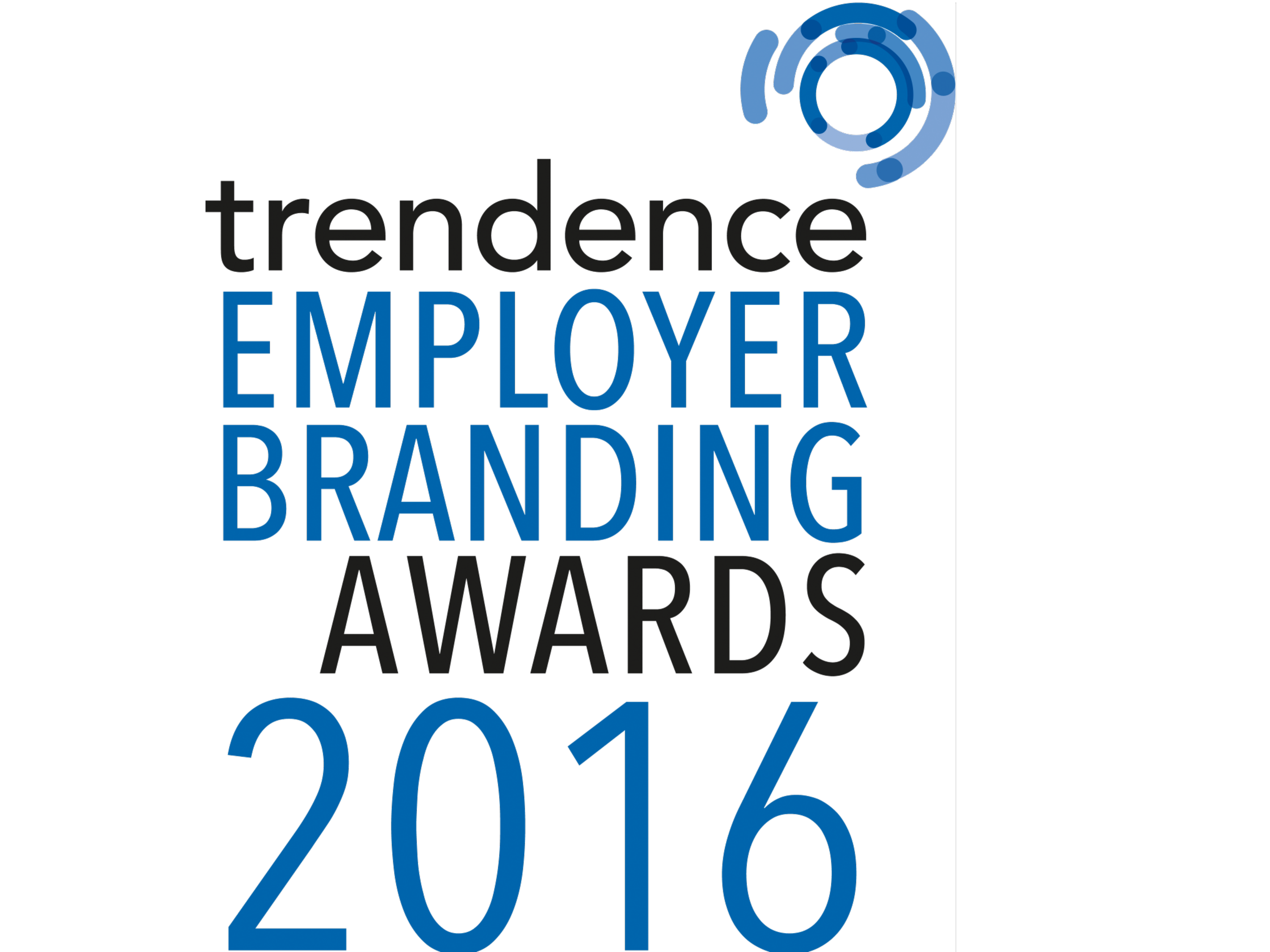 Trendence Employer Brandind Award 2016