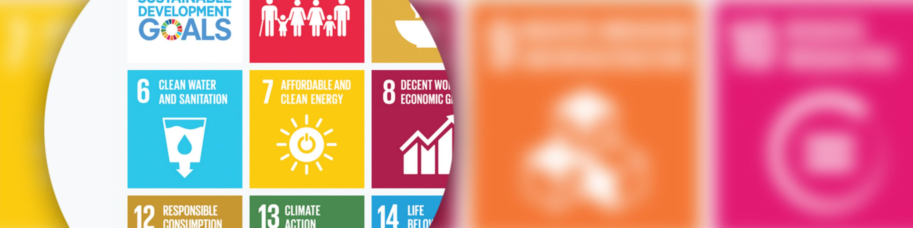 A graphic about sustainable development