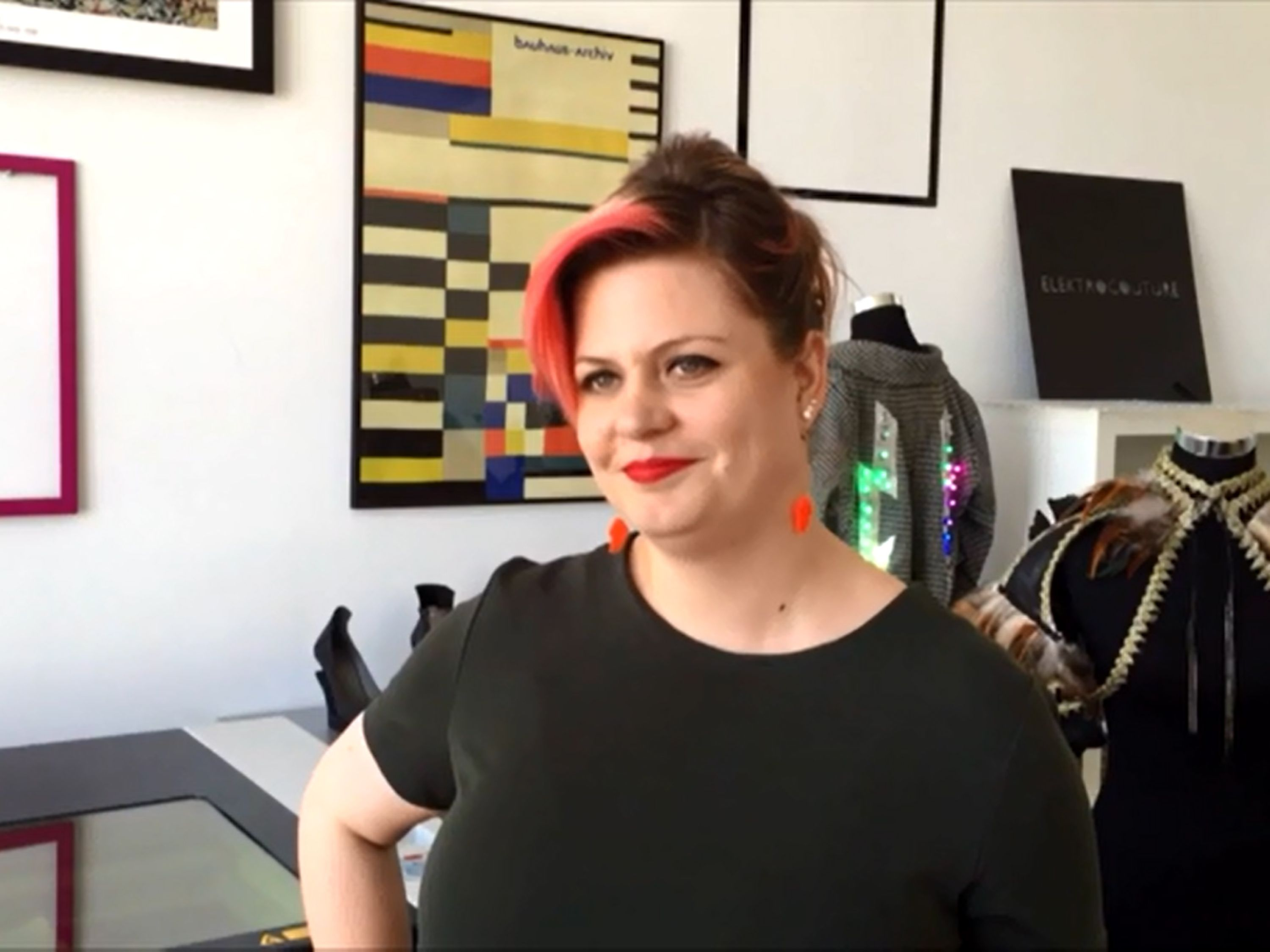 Lisa Lang, Designer, Founder and CEO of ElektroCouture.