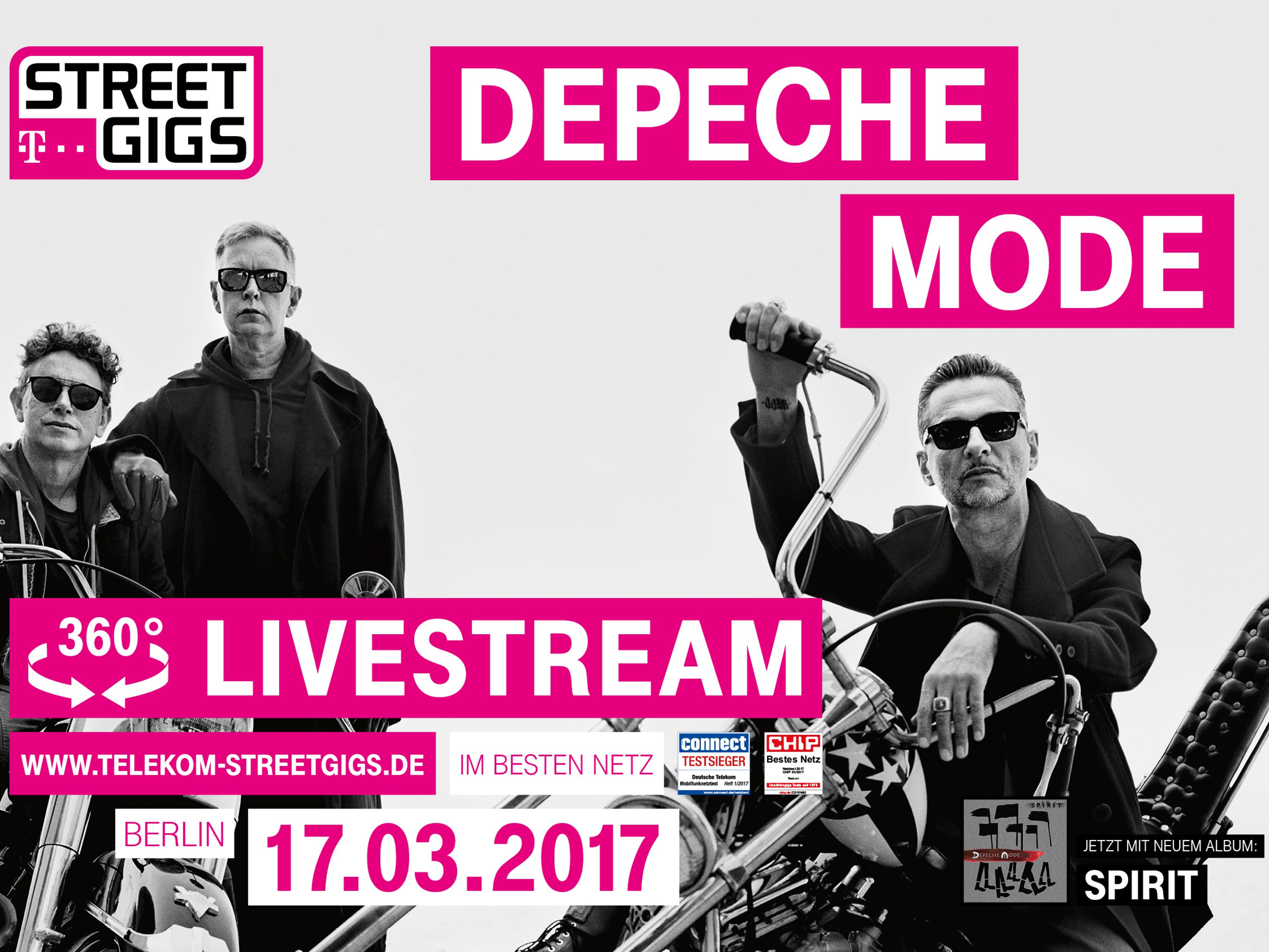 Telekom presents Depeche Mode