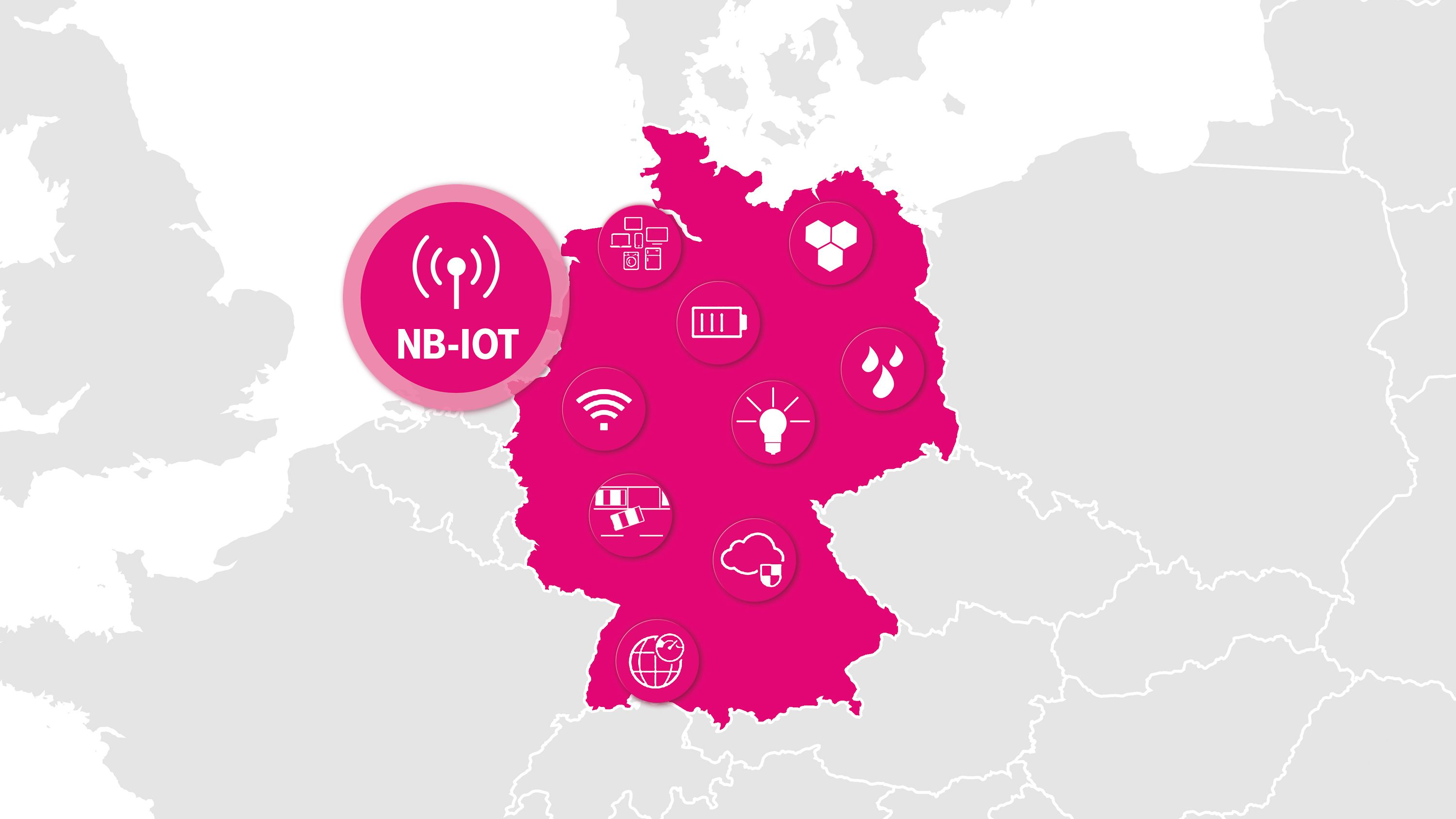NB-IoT Germany map