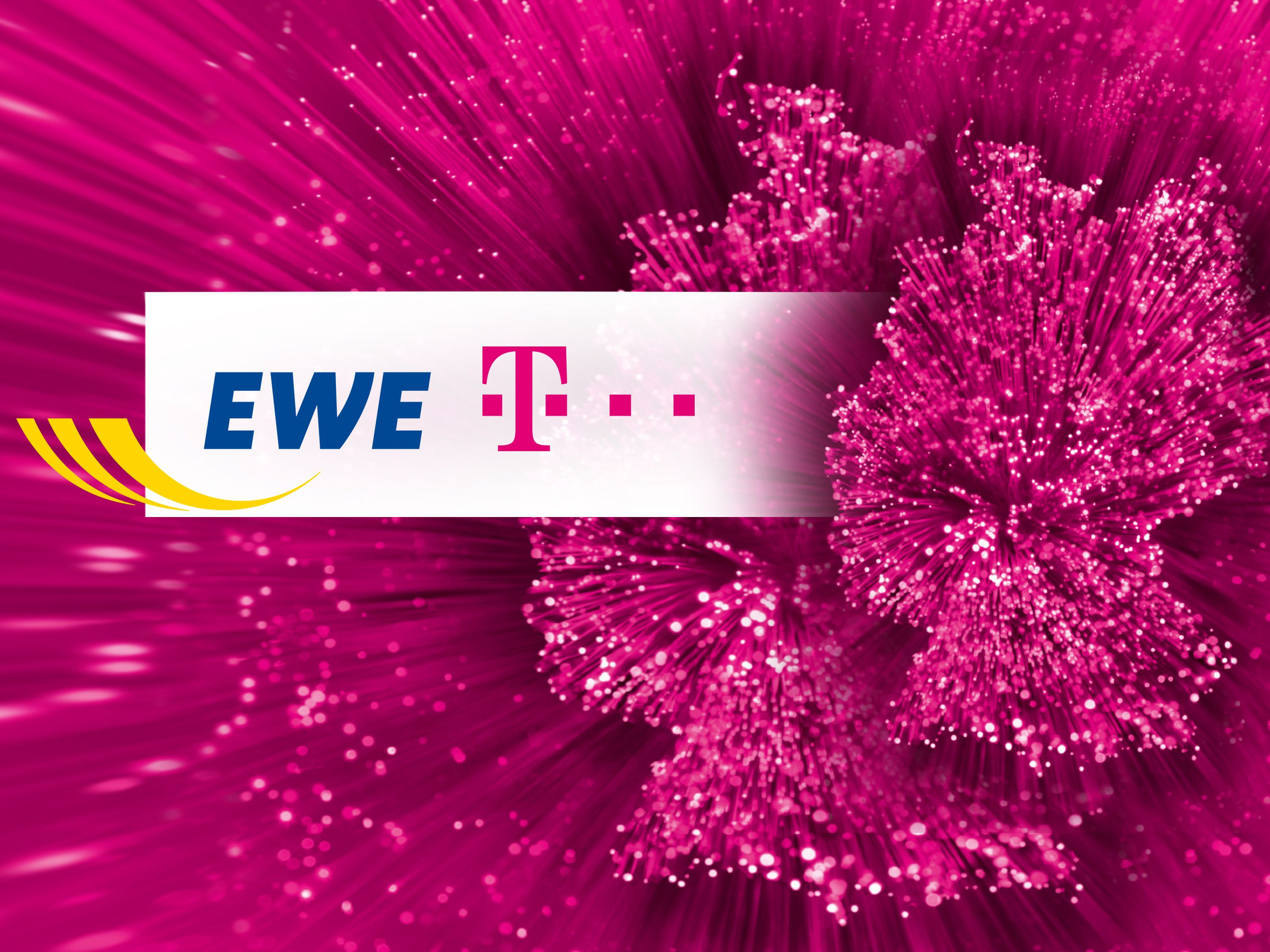 Deutsche Telekom and EWE are teaming up to provide faster connections