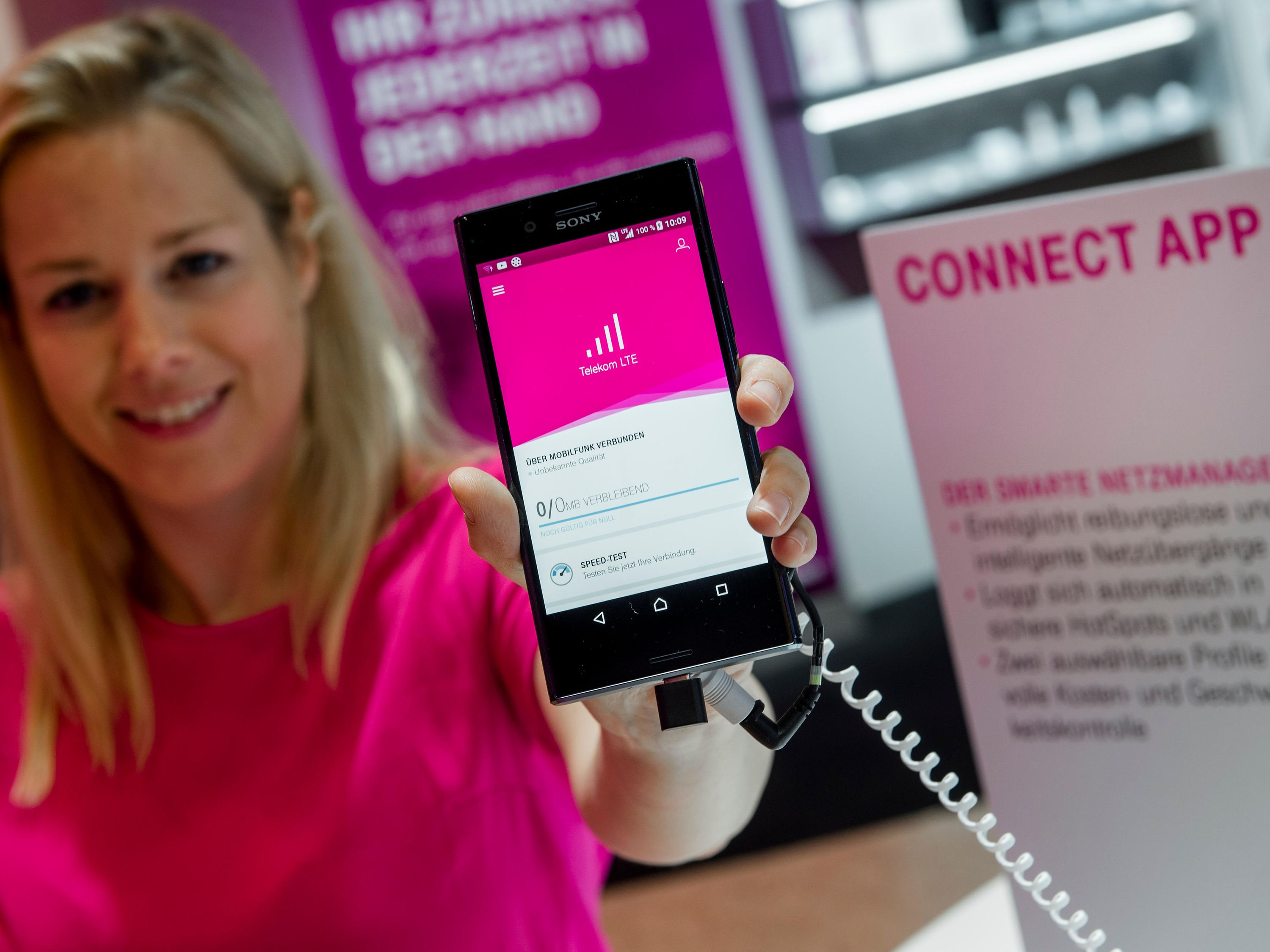 Surfing fast and secure with CONNECT App | Deutsche Telekom