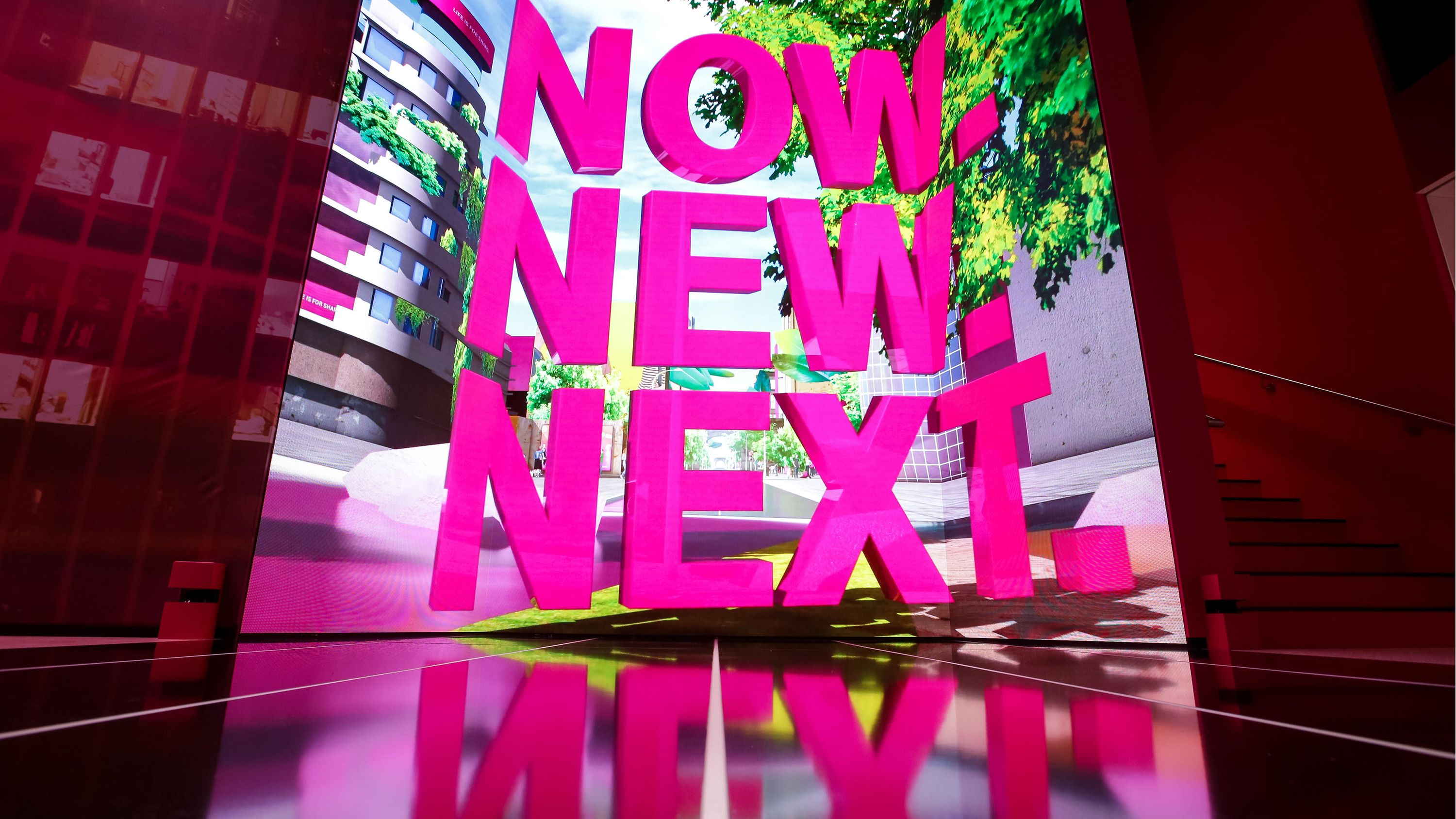 Now. New. Next.