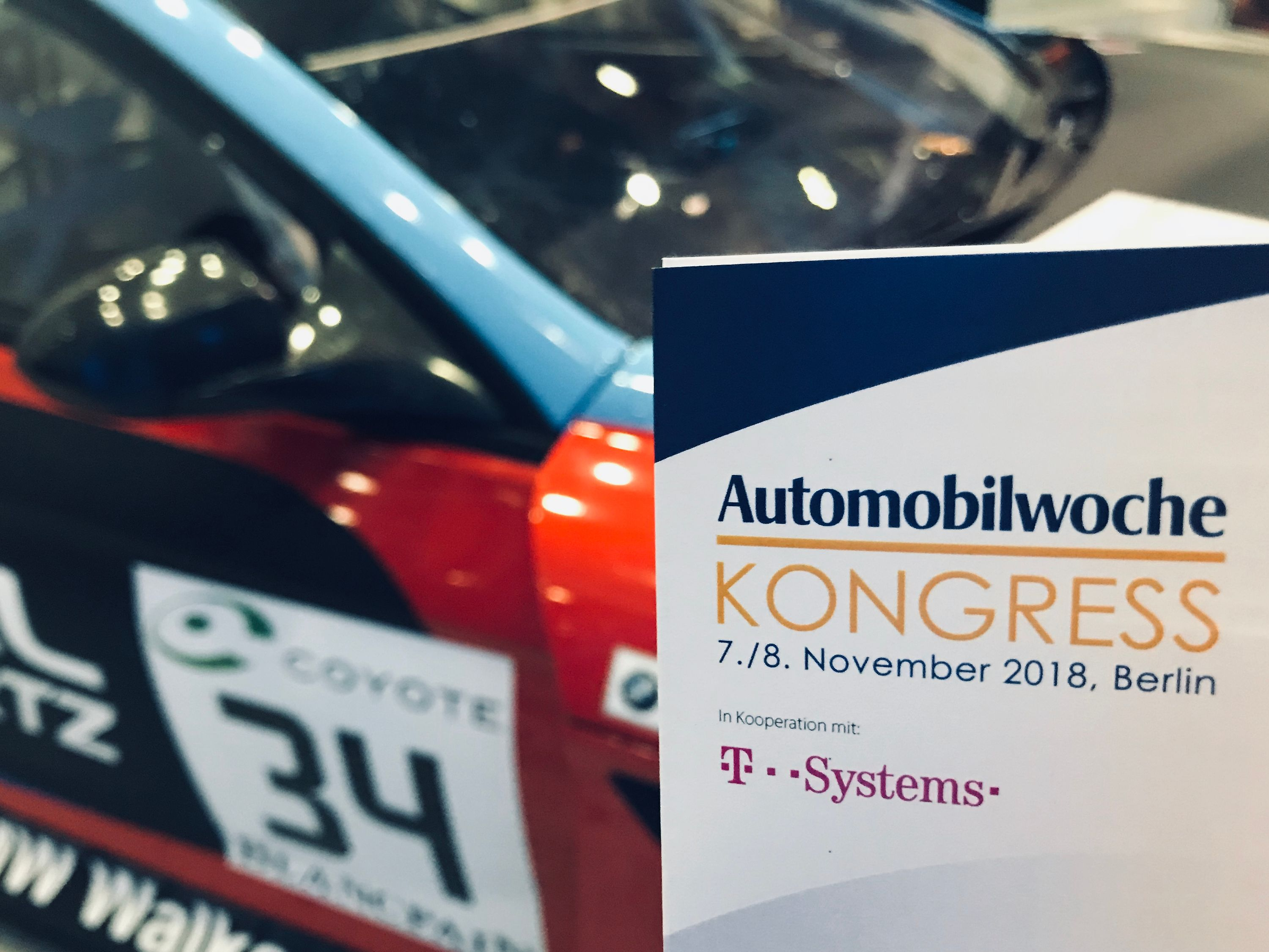 T-Systems war zum 13. Mal Partner des Automobilwochekongresses.