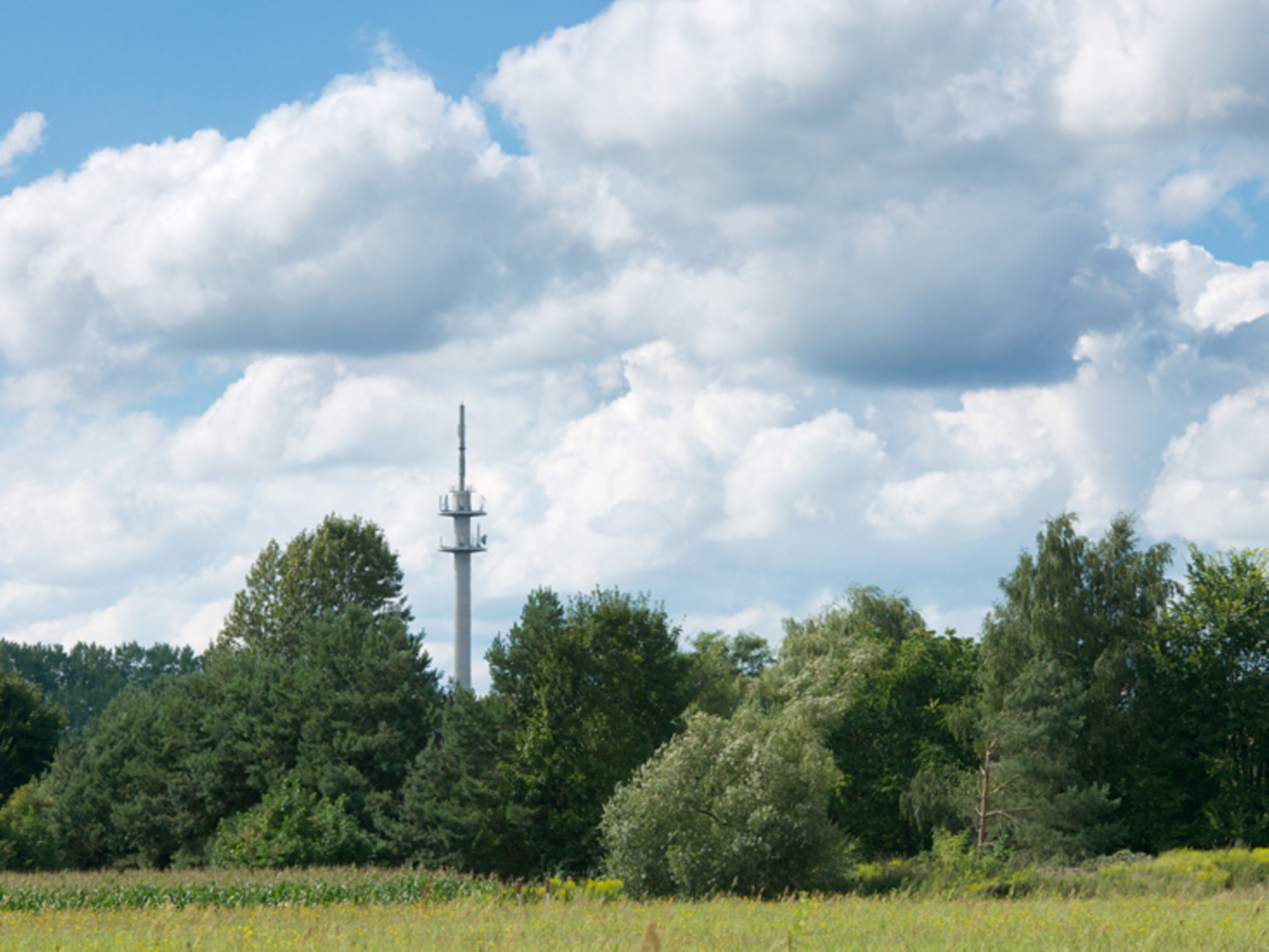 4G base station in Kyritz/Brandenburg.