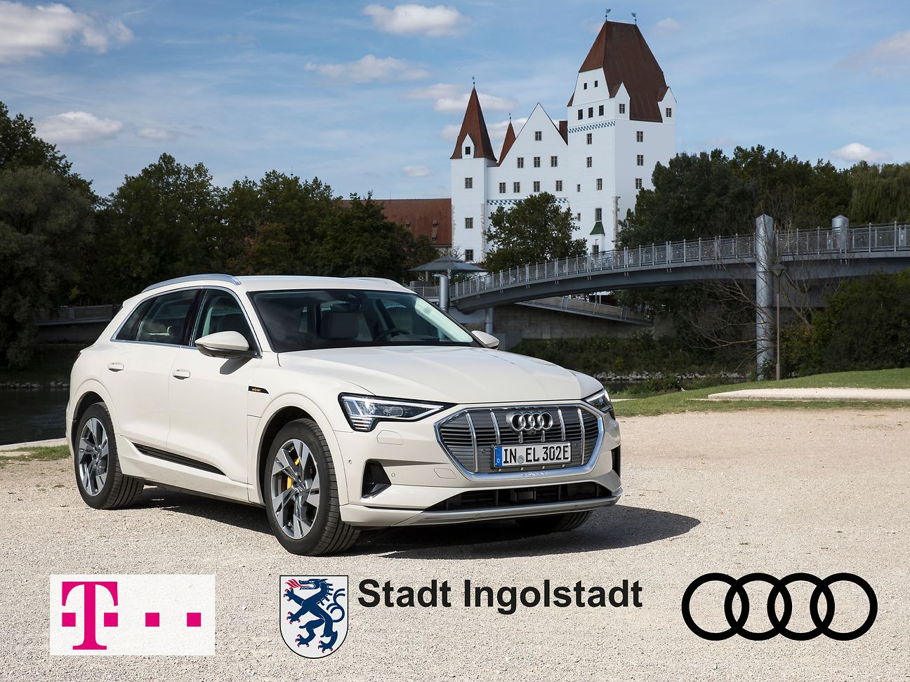 5G cooperation: Audi, the city of Ingolstadt and Telekom.