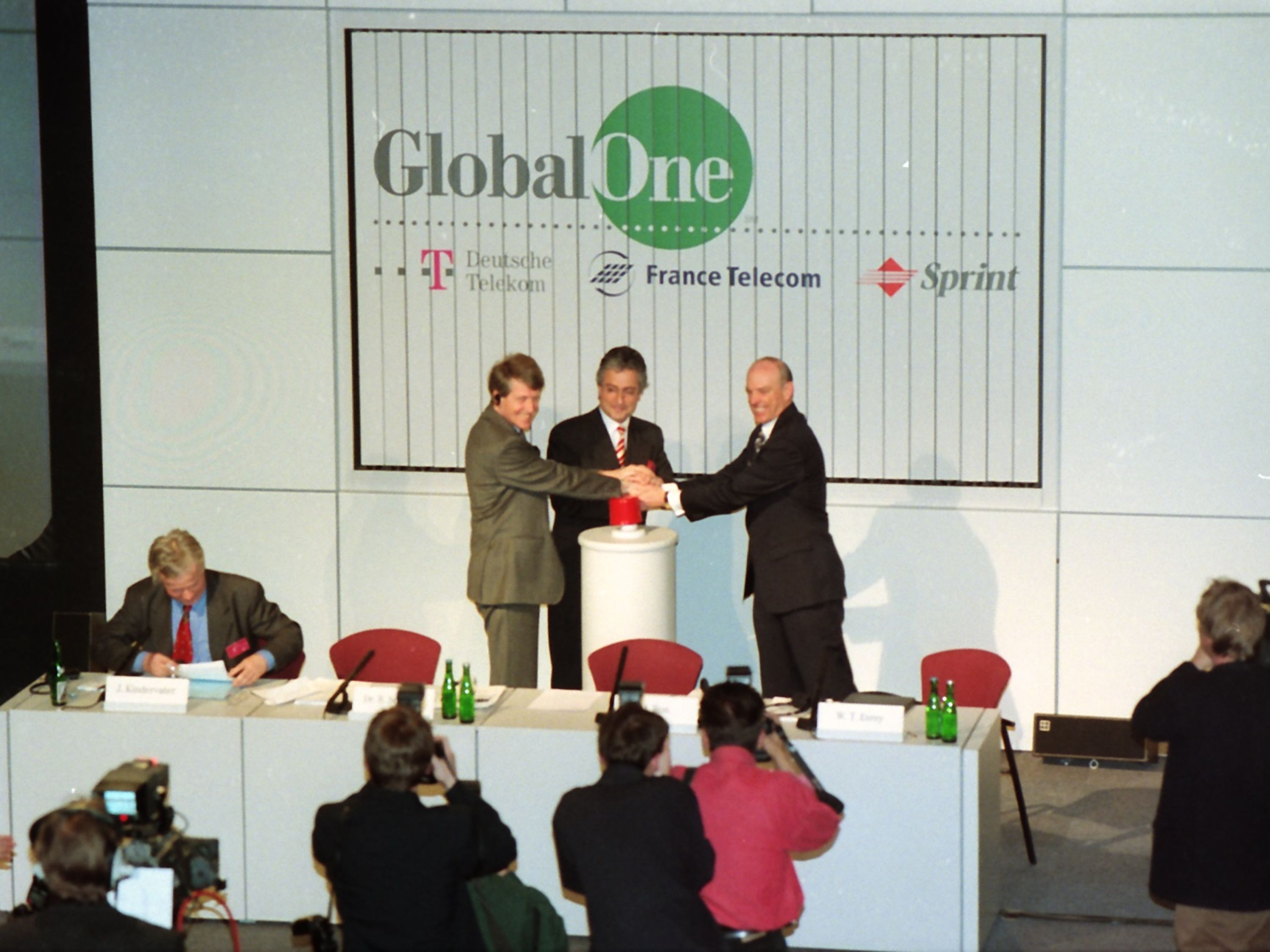 "The establishment of ""Global One"" is an milestone on the company's path to becoming a global telecommunications company."