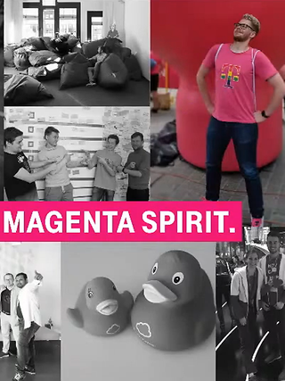 Welcome to the magenta spirit.