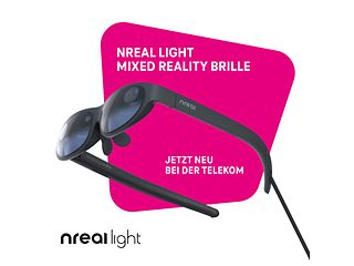 Fokus auf Innovation: Telekom launcht erste Mixed-Reality-Brille Nreal Light.