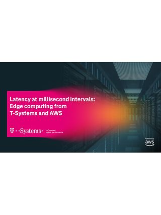 Hannover Messe: When milliseconds count - Edge computing from T-Systems and AWS